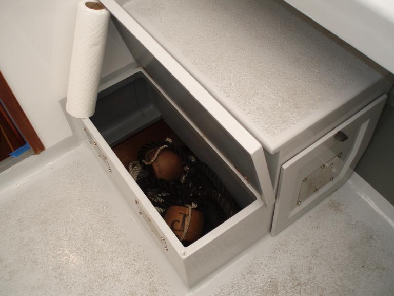 Under deck storage