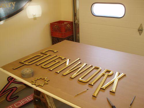 Signworx letters