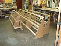 how to build a wood awning frame